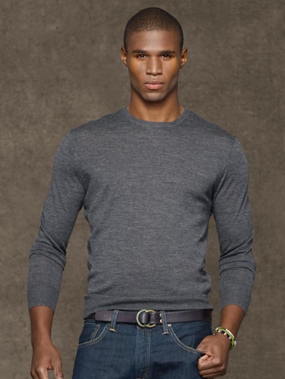 Ralph Lauren новый свитер тонкая шерсть из США оригинал размеры M XL