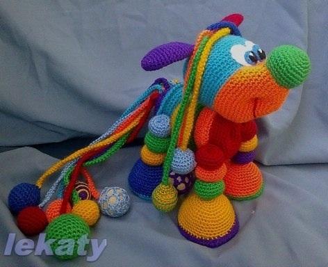 Как называется вязание крючком игрушки