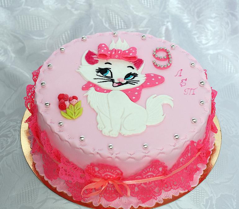 Торт из мастики для девочки своими руками 20