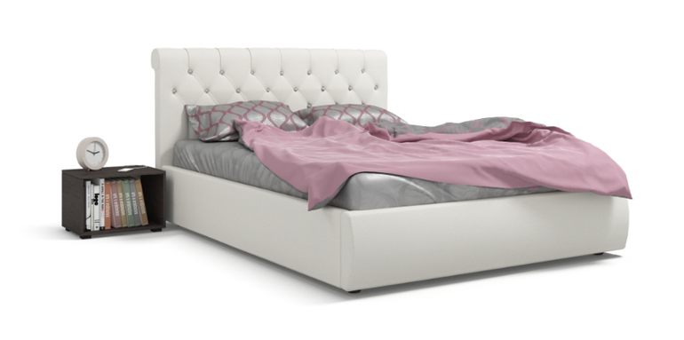 Кровать  много мебели