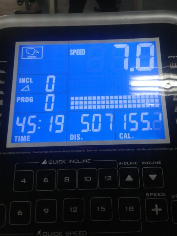 Я сегодня бегала!