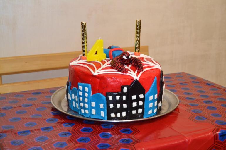 Торт человек паук своими руками фото 62