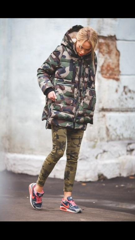 Куртки Камуфляжные
