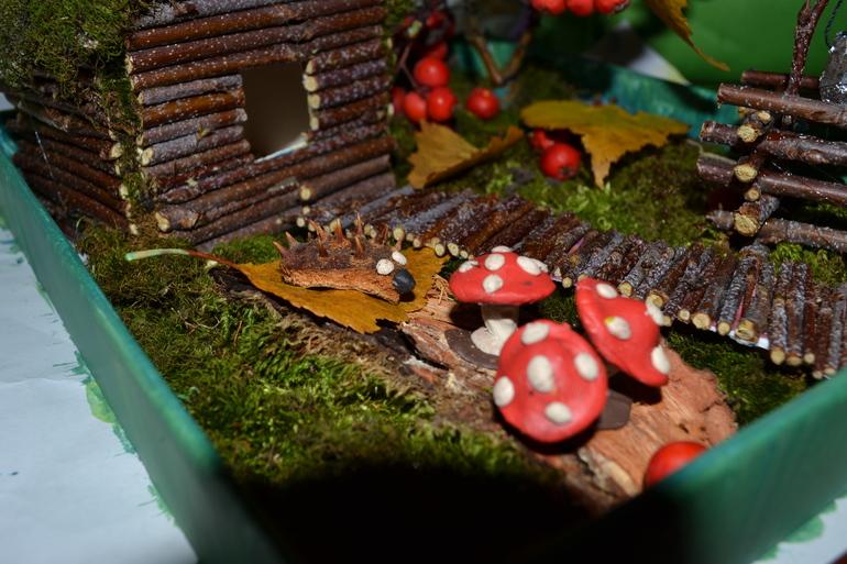 Поделка  в  сад  на  тему  осень!