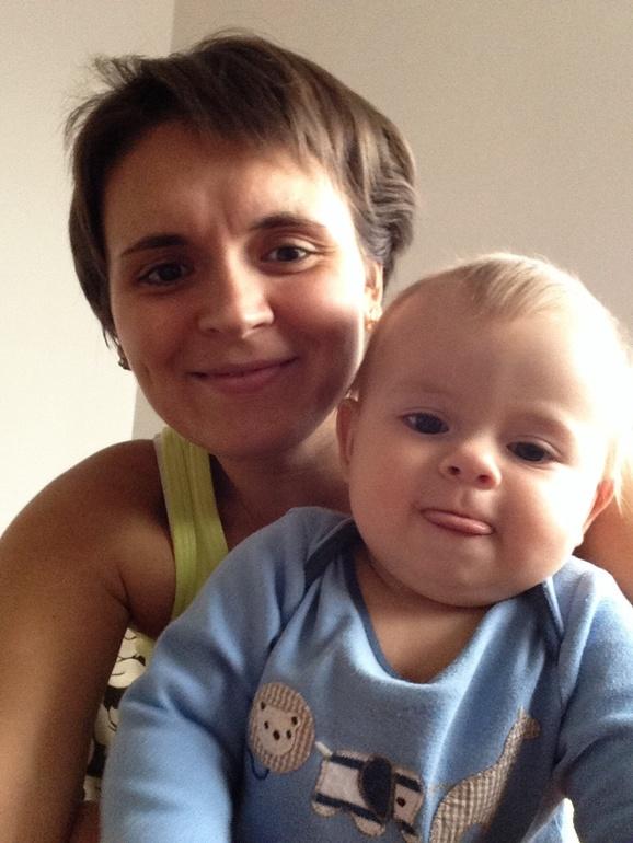 10  месяцев  сыну