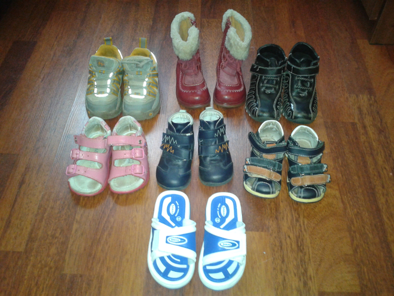Обувь  мальчик-девочка  19-25р-р  от  100  руб!