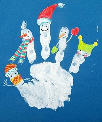 Идеи к новому году дети рисунки