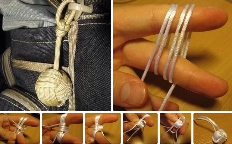 Шарик из верёвки своими руками 8