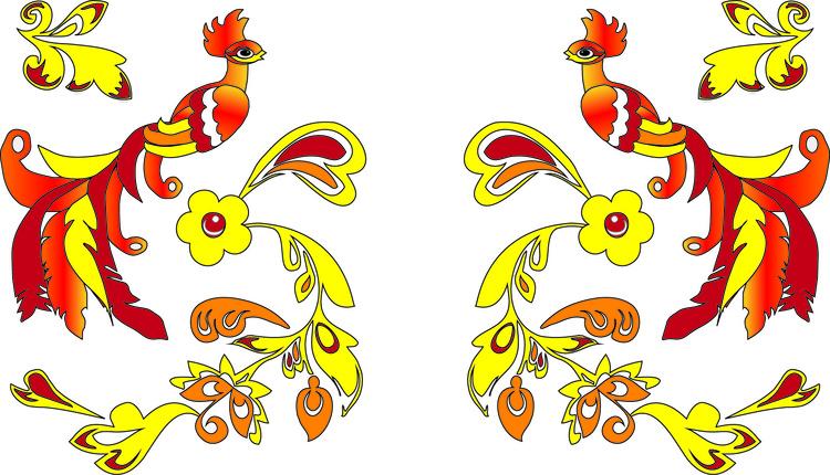 картинки сказочные жар птицы