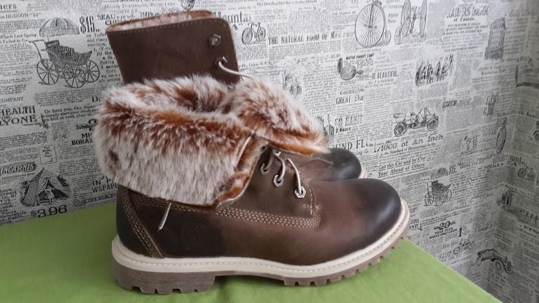 Новые зимние ботинки Timberland