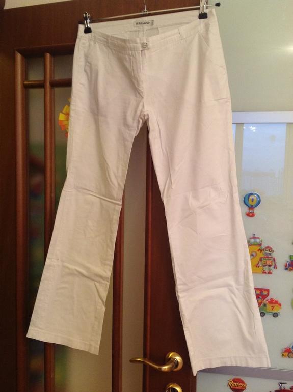 Белые  брюки  терранова,  размер  L,  350  руб  Коньково