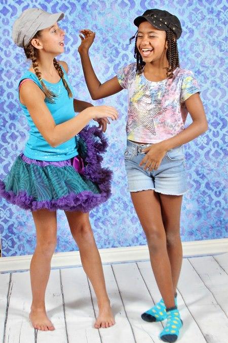 Новые пышные юбки, платья Belle Ame и Oopsy Daisy - оригинал