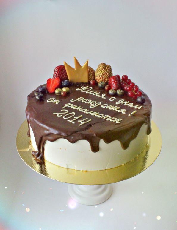 красивые торты без мастики фото