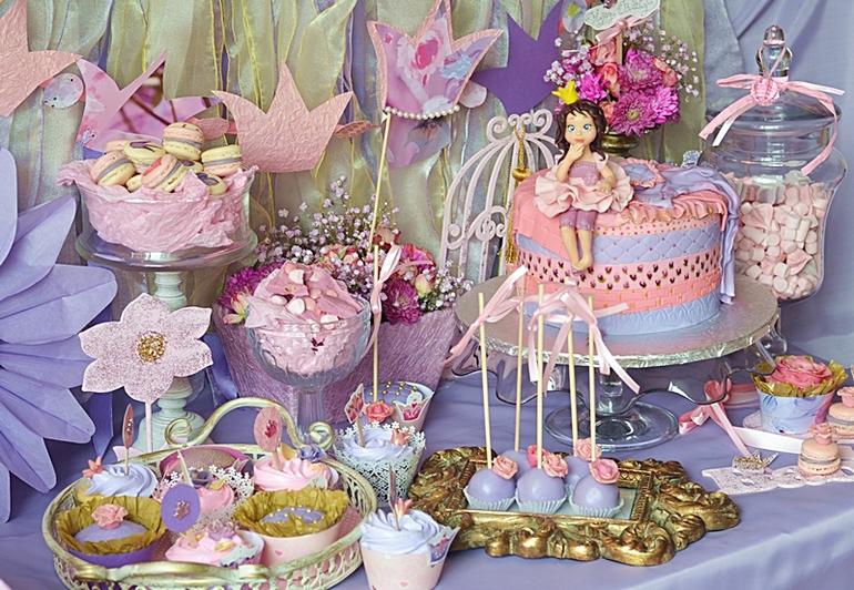 Торт в стиле принцессы своими руками 14