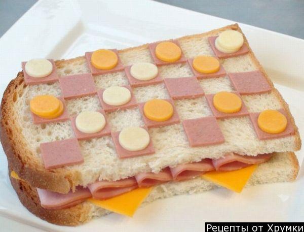 Как сделать простой но вкусный бутерброд
