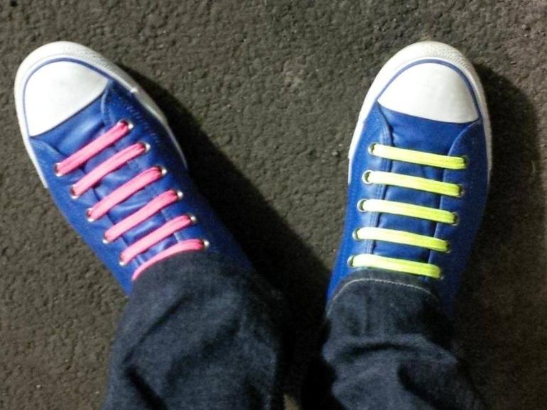 Про шнурки :-) - неумение завязывать шнурки - Конференции 7я.ру