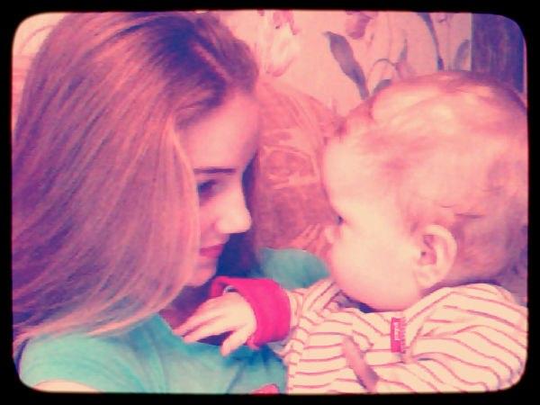 Ангелочки: сын и дочка!