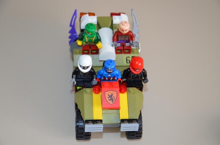 Лего-шедевры Матвея.