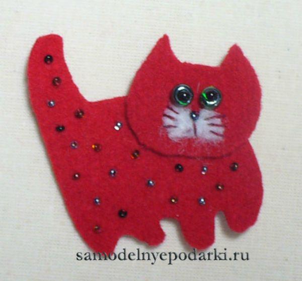 Поделка кота своими руками