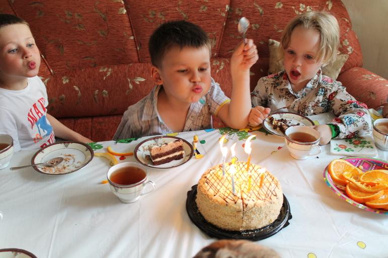 День рождения Ромы