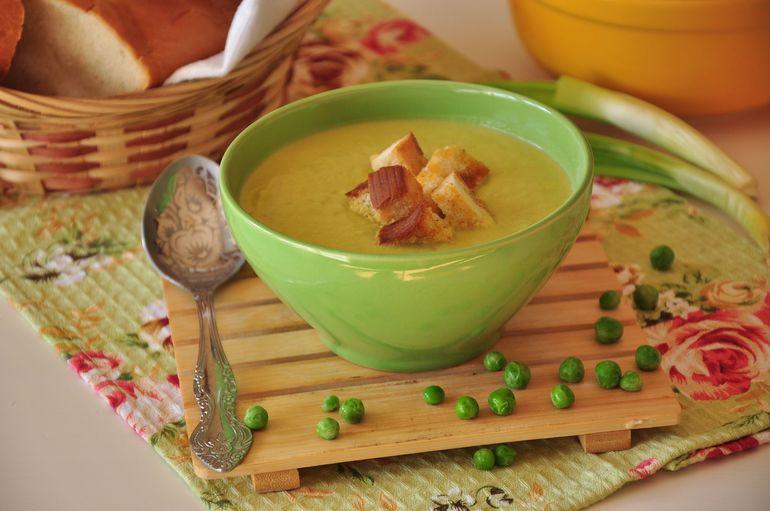 Как сделать суп из гороха