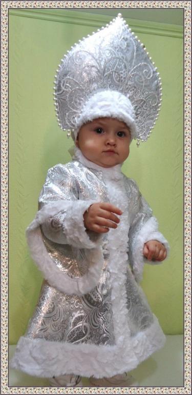 Новогодний костюм для девочки своими руками 1 годик