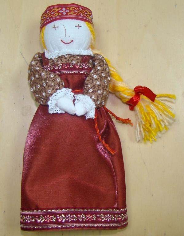 Как сшить куклу-желанницу 76