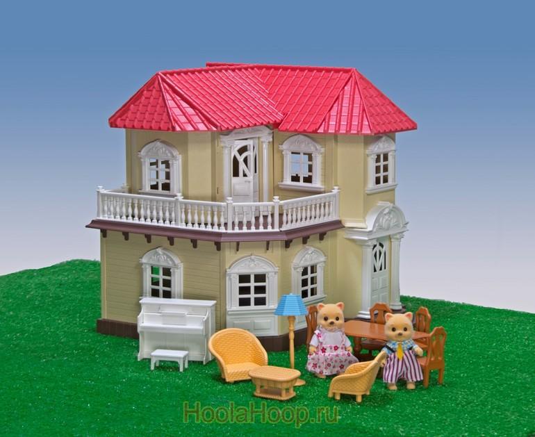 """Игровой набор Happy Family (аналог Сильваниан) """"Уютный домик"""""""