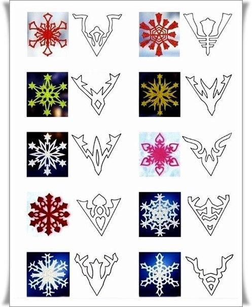 Снежинки красивые своими руками схемы
