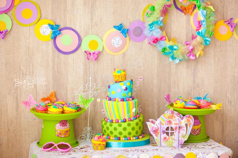 Стол для дня рождения на 1 годик