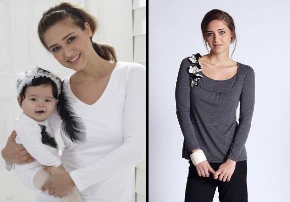 одежда для кормления mothers en vogue, пара футболок для беременных, ночнушка в подарок!