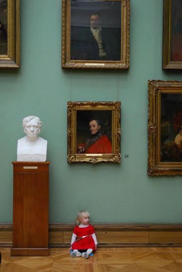 Маленькие дети и большое искусство