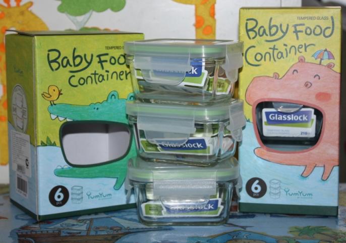G*LASSL*OCK пищевые контейнеры (стеклянные, суперпрочные)