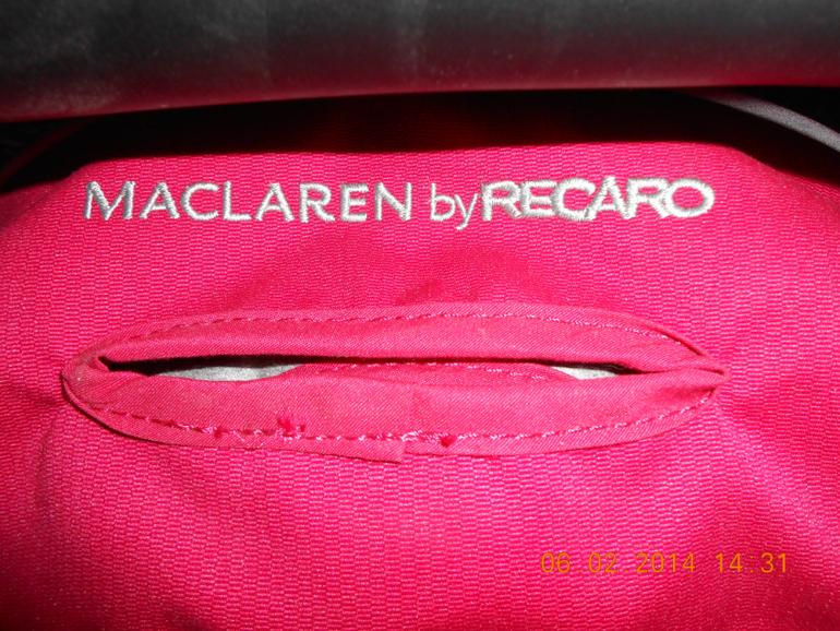 Продам НОВОЕ автокресло Макларен Рекаро 0+ (-13 кг)