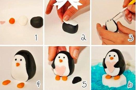 Как из пластилина сделать фигуры из 135