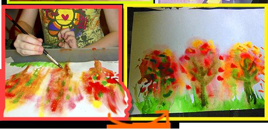 Уроки живописи с детьми.