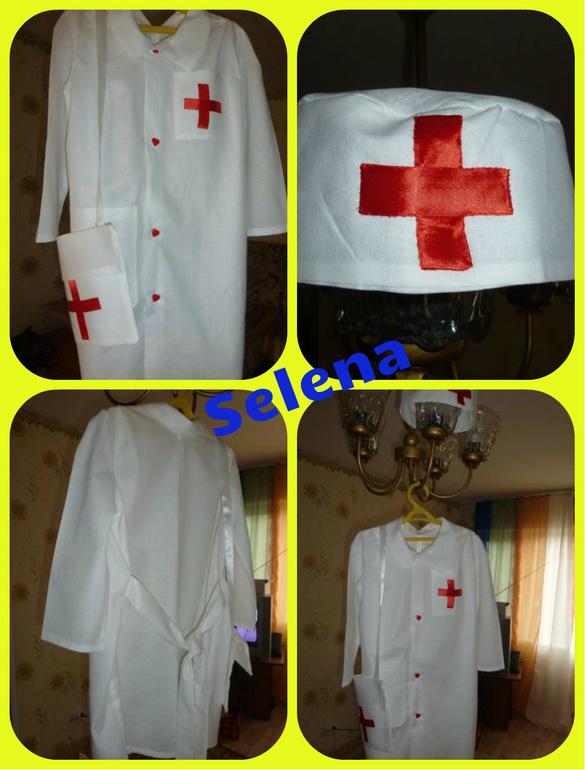 Детский костюм врача своими руками 114