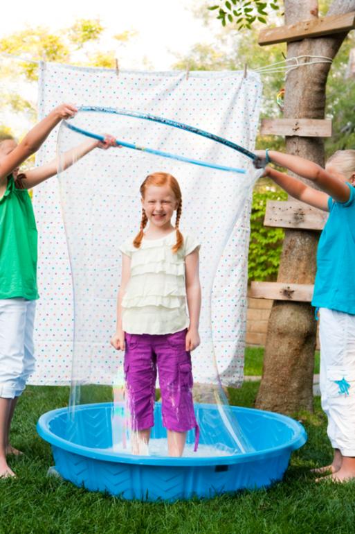 Как делать мыльные пузыри своими руками в домашних условиях для начинающих