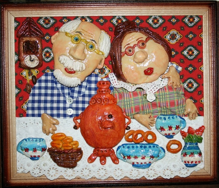 Поделка для бабушки и дедушки своими руками 5