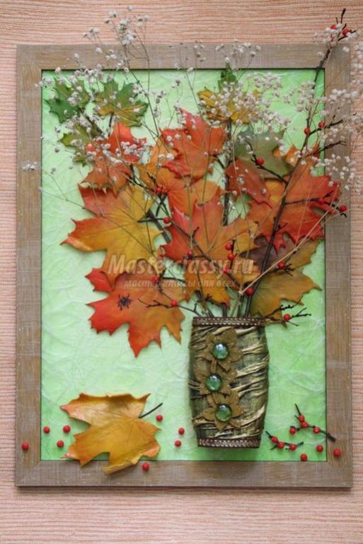 Осенние поделки мастер класс с пошаговым фото