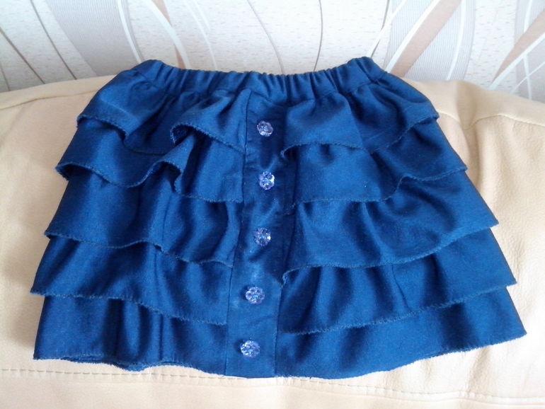 Как сшить юбку для себя и дочки 880