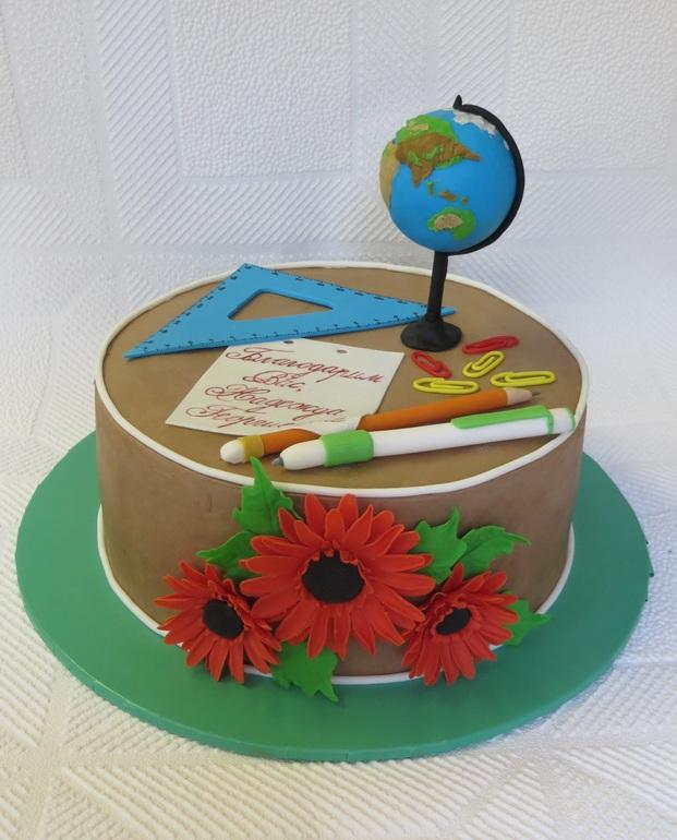 Торт для учителя труда фото