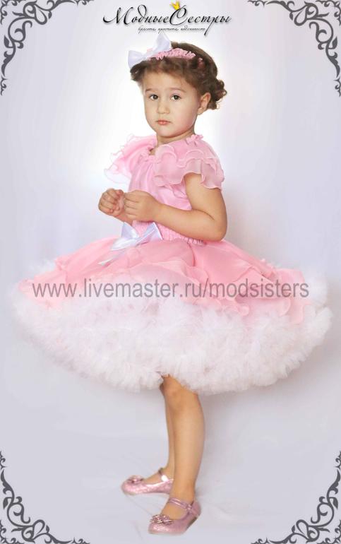 """Воздушное платье """"Розовый сон"""""""