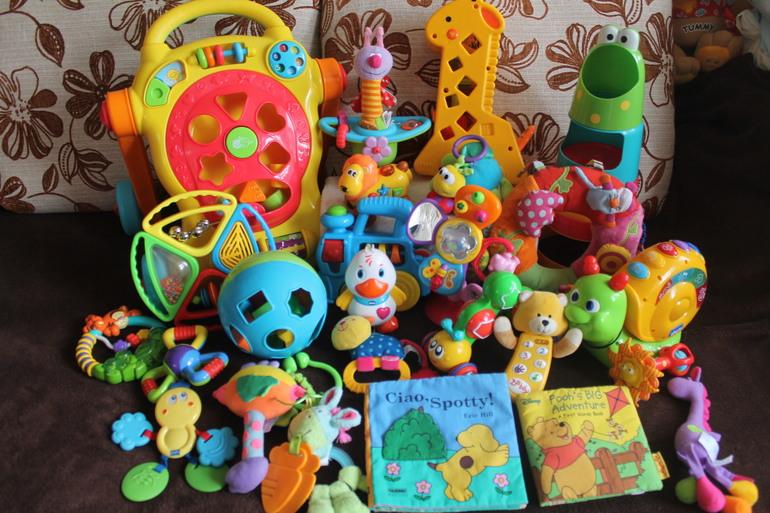 Развивающие игрушки б/у в отличном состоянии.Белгород.Почта.