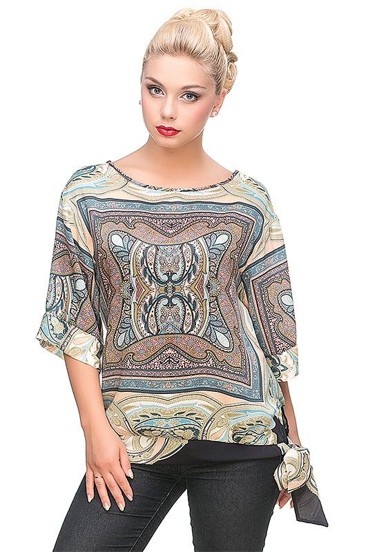 Блуза новая (шелк)