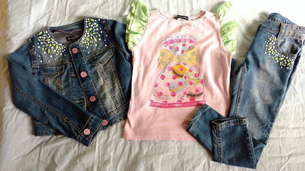 Костюм Blumarine baby jeans 4A.