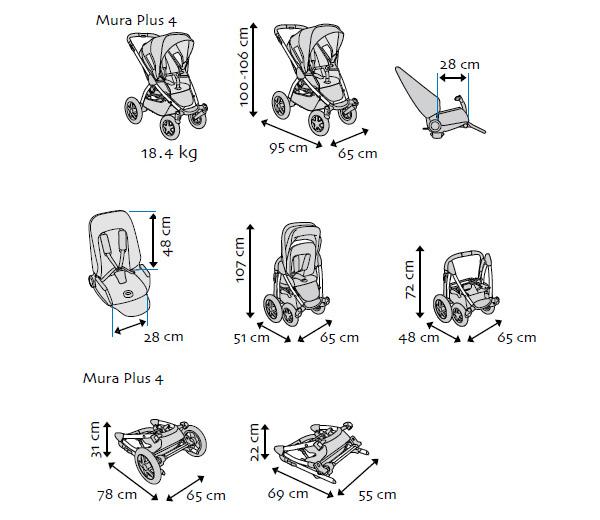 Коляска Maxi-Cosi Mura 4 Plus Confetti