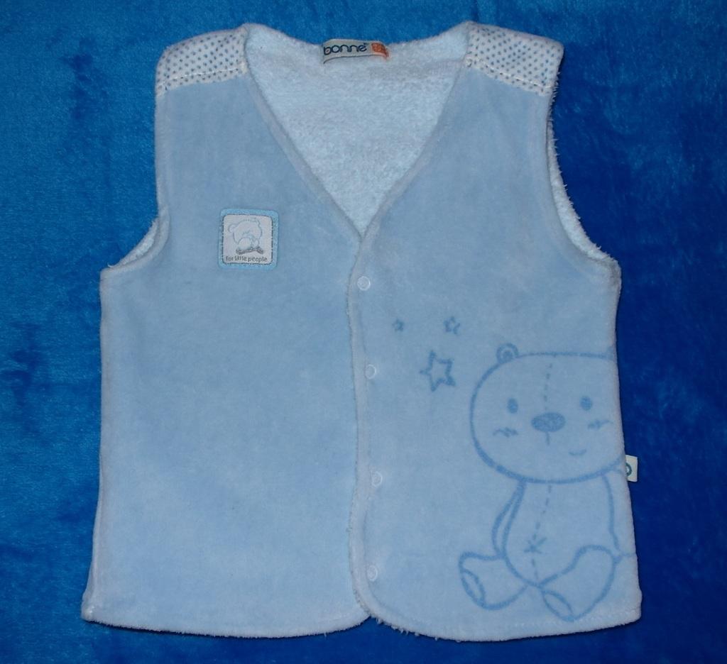 Комплект велюровый, утепленный Bonne Baby, 68-74