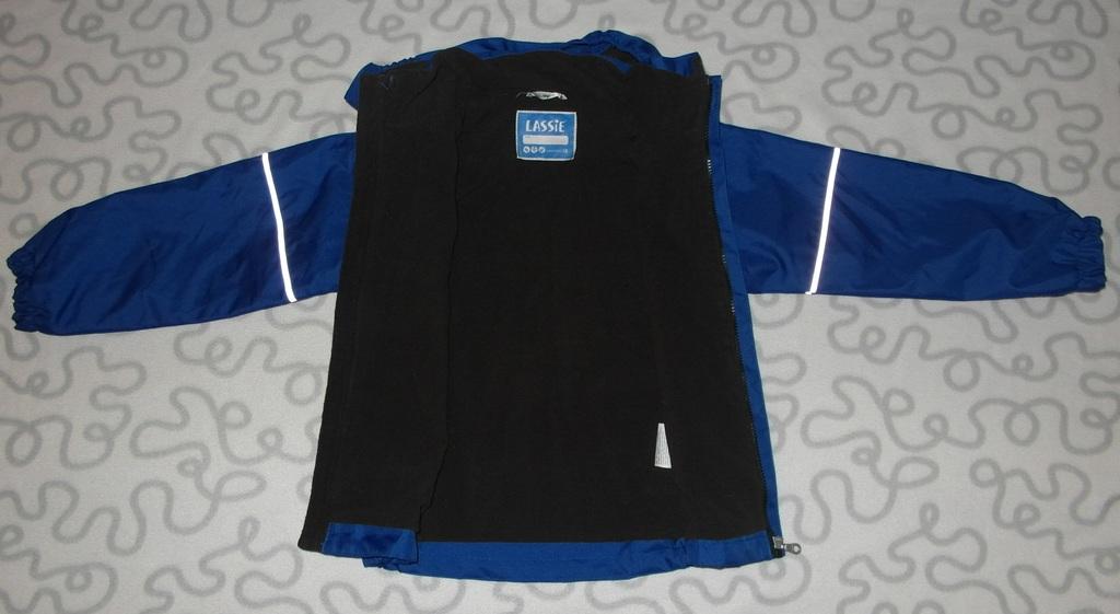 Новая утепленная куртка, 116-122 см