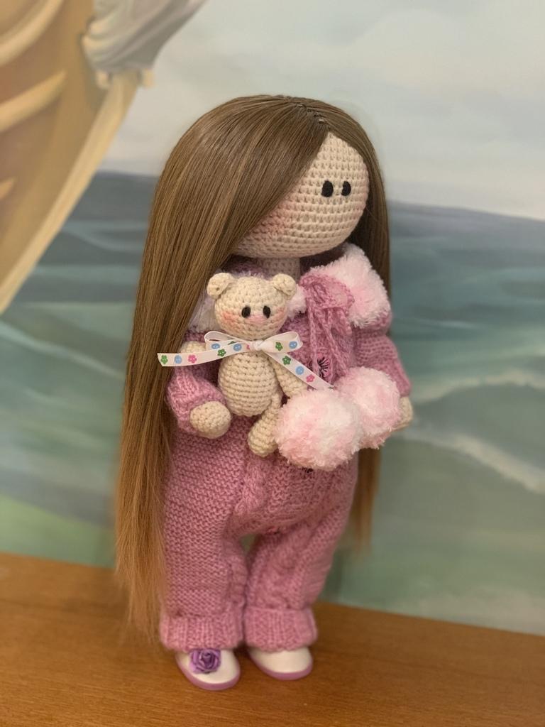 Куколка ручной работы